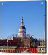Maryland State House Dome Acrylic Print