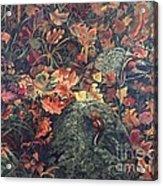 Mary's Chipmunks Acrylic Print
