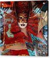 Mascarade Acrylic Print