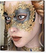 Masquerade Mask Acrylic Print