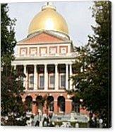 Massachusetts State House - Boston  Acrylic Print