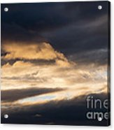 Masses Of Dark Clouds Acrylic Print