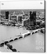 Maumee River Toledo Ohio Acrylic Print
