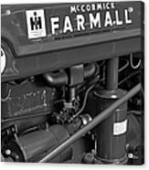 Mc Cormick Farmall Super C Acrylic Print