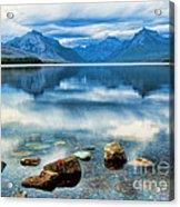 Mcdonald Lake Acrylic Print