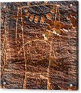Mckee Springs Petroglyph - Utah Acrylic Print
