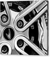 Mclaren Wheel Emblem Acrylic Print