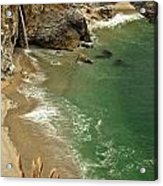 Mcway Falls Acrylic Print by Adam Jewell