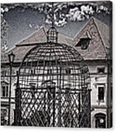 Medieval Cage Of Shame Acrylic Print