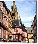 Medieval Vannes France Acrylic Print