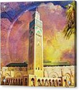 Medina Of Marakkesh Acrylic Print by Catf