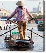 Mekong Delta - Vietnam Acrylic Print