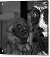 Melbourne Street Sculptures Acrylic Print