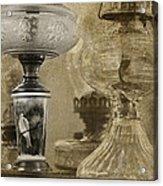 Memories Of Paris Acrylic Print