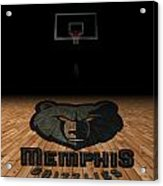 Memphis Grizzlies Acrylic Print