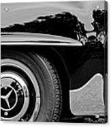 Mercedes-benz Wheel Emblem Acrylic Print