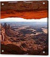 Mesa Arch Acrylic Print