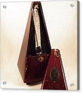 Metronome  Acrylic Print by Stefano Piccini