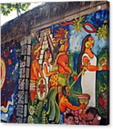 Mexican Wall Art Acrylic Print