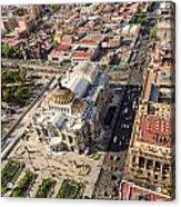 Mexico City Aerial View Acrylic Print