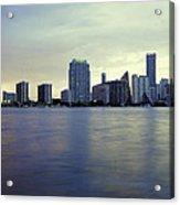 Miami Downtown Acrylic Print
