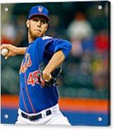 Miami Marlins V New York Mets Acrylic Print
