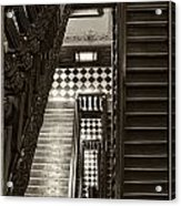 Michigan Capitol Stairwell Acrylic Print