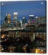 Midtown Atlanta Skyline At Dusk Acrylic Print