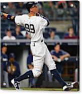 Milwaukee Brewers v New York Yankees Acrylic Print