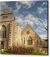 Minster Abbey Acrylic Print