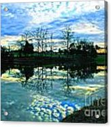 Mirror Image Acrylic Print by Jinx Farmer