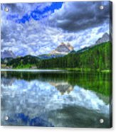Mirror In The Sky Acrylic Print