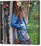 Missing You Acrylic Print by Andrei Attila Mezei