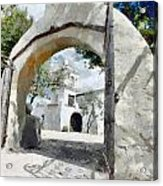 Mission Acrylic Print by Lester Phipps