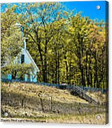 Mission Point Light House Michigan Acrylic Print