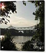 Missouri River Sunrise  Acrylic Print