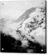 Mist In Mountain Himalayas Acrylic Print