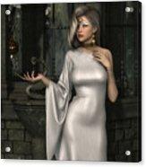 Mistress Of Poisons Acrylic Print