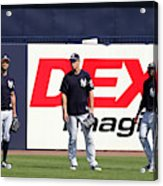 MLB: FEB 20 Spring Training - Yankees Workout Acrylic Print
