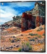 Mojave Desert Acrylic Print