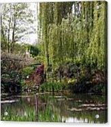 Monets Garden Acrylic Print