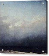 Monk By Sea Acrylic Print