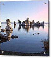 Mono Lake In First Light Acrylic Print