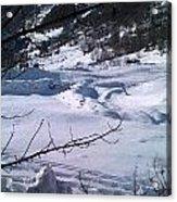 Montagna Panorama Acrylic Print