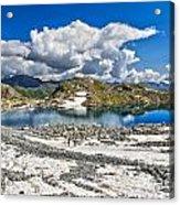 Monticello Lake - Tonale Pass Acrylic Print