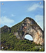Moon Hill, Yangshuo, China Acrylic Print