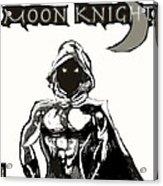 Moon Knight The White Knight  Acrylic Print