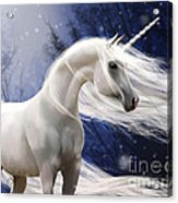 Moonbeam The Second Acrylic Print by Kate Black