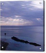 Moonlight Over Man Of War Bay  Acrylic Print