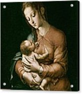 Morales, Lu�s De 1515-1586. The Virgin Acrylic Print